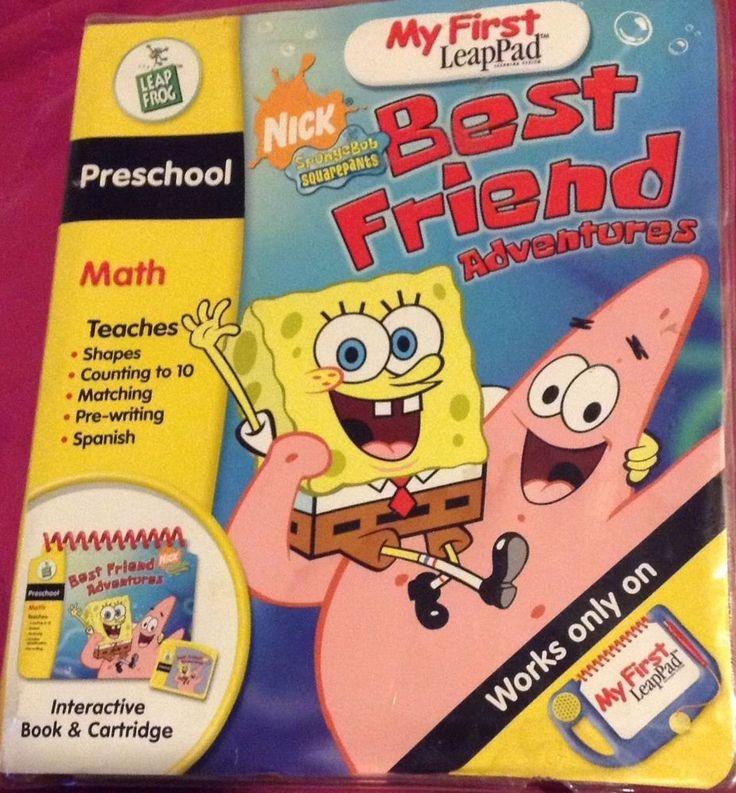 My first leappad best friends adventures nick Spongebob Squarepants Math game #Leappad