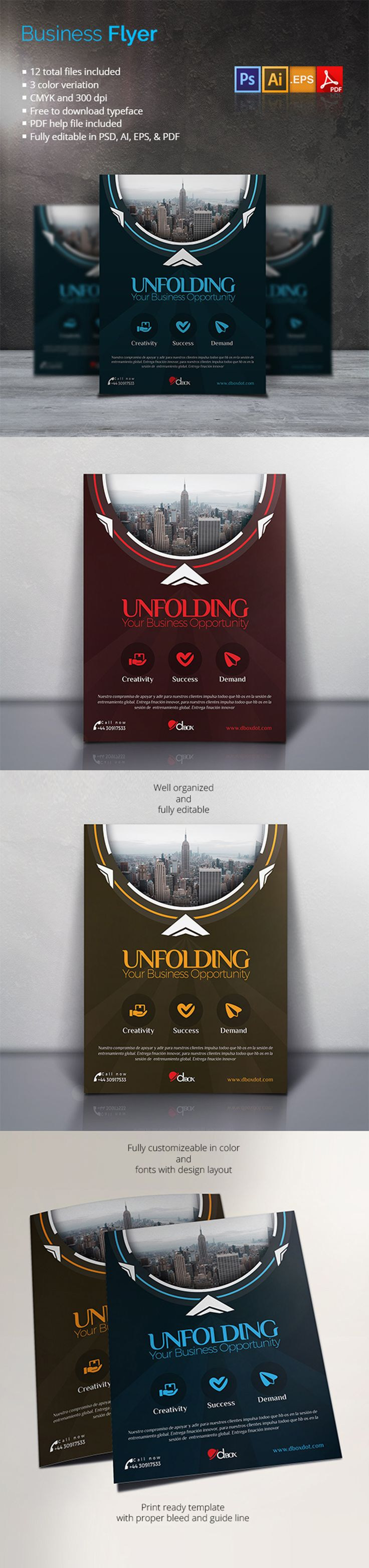 A high quality design work for the professionals. This Flyer Template has been developed to boost your Ultimate Marketing Opportunity and brand awareness for large and small organization, with well studied and effective marketing content.