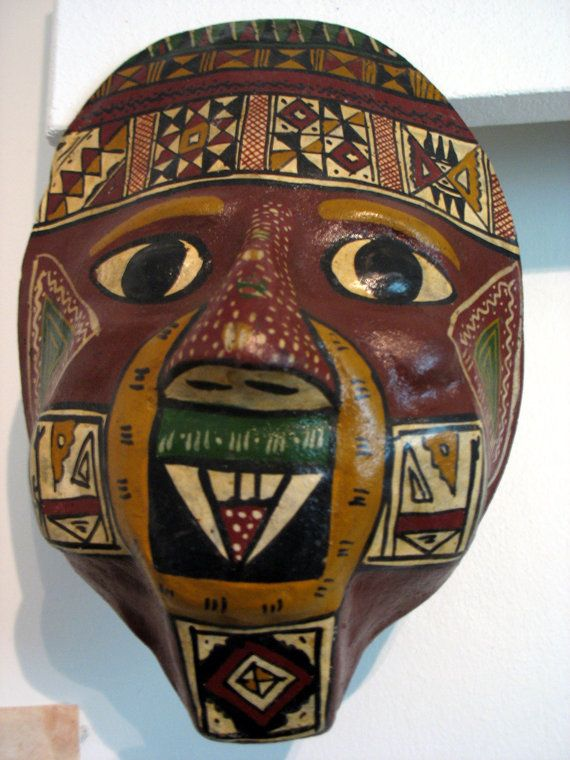 Mask by Vaisanen on Etsy