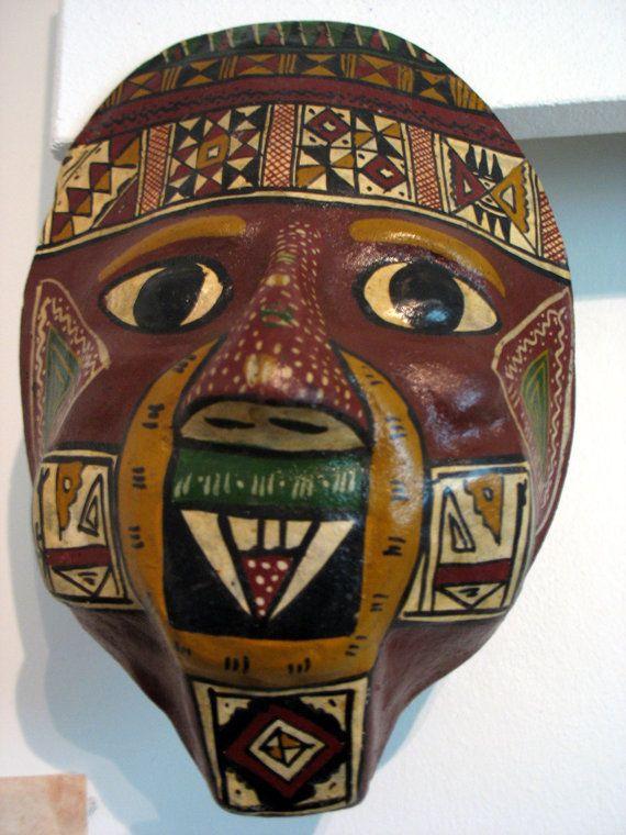 Mask by Vaisanen on Etsy