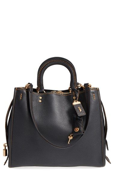 COACH 1941 'Rogue' Leather Satchel available at #Nordstrom