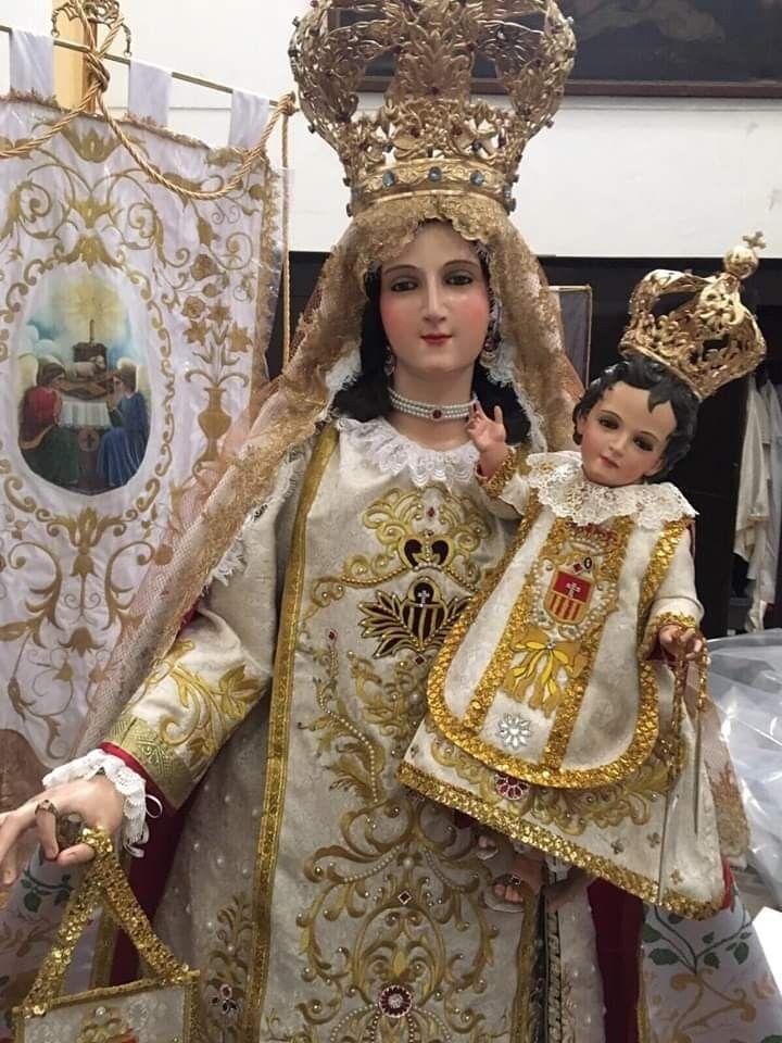 Virgen De La Merced Jesus Pictures Catholic Images Hail Mary