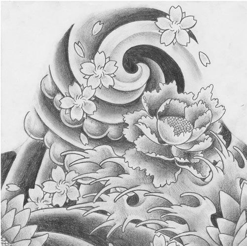 Top 10 Japanese Tattoo Designs Wave Tattoos Waves And Lotus