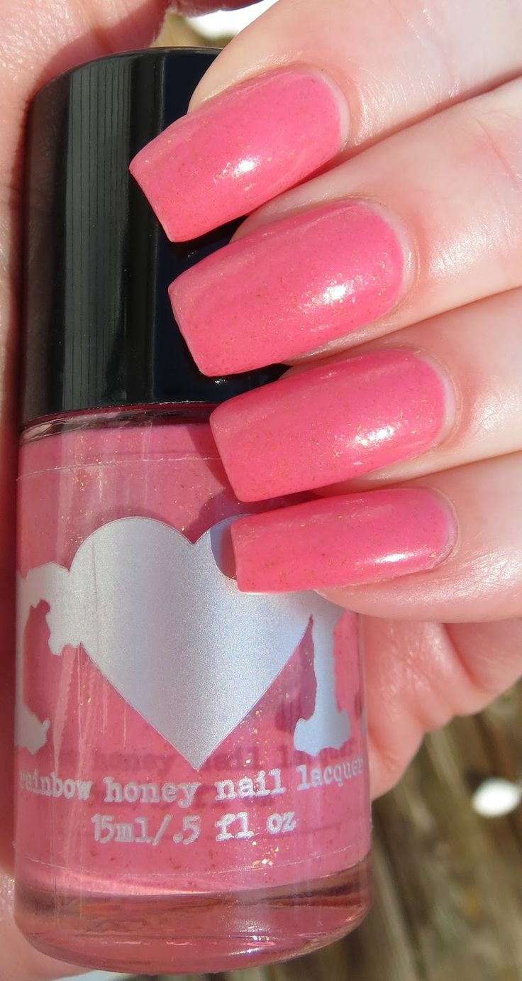 Be Mine - Rainbow Honey Manicure, 1 manicure, actual bottle in pic, $6.75