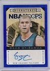 For Sale - 2013-14 NBA HOOPS GREG STIEMSMA BLUE AUTO /50   - SP New Orleans Pelicans - http://sprtz.us/PelicansEBay