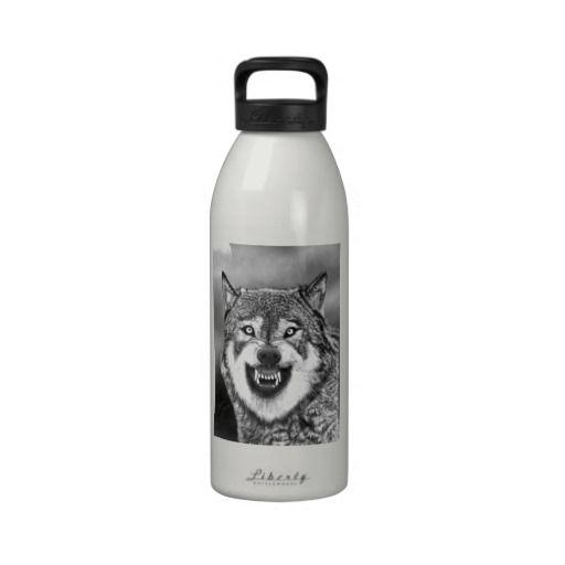 Wolf Drinking Bottles