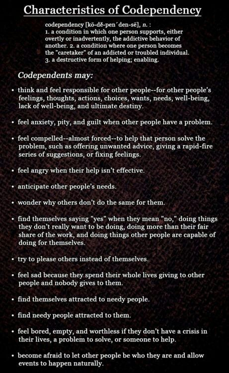 Codependency family and co dependency this condition