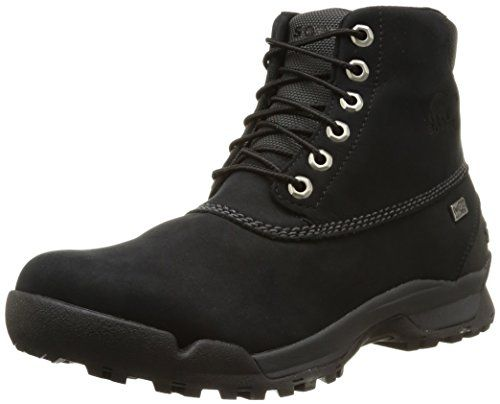 Sorel Mens Paxson 6 Outdry Boots BlackShark 12 DM US * Want additional info? Click on the image.(This is an Amazon affiliate link and I receive a commission for the sales)