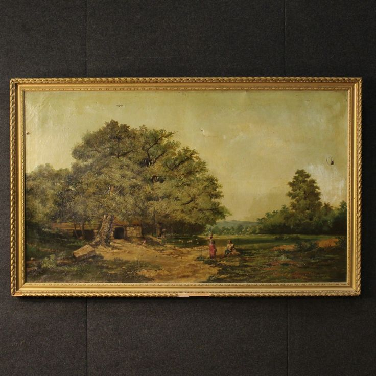 1400€ Great Italian painting depicting landscape of the 19th century. Visit our website www.parino.it #antiques #antiquariato #painting #art #antiquities #antiquario #canvas #oiloncanvas #landscape #quadro #dipinto #arte #tela #decorative #interiordesign #homedecoration #antiqueshop #antiquestore
