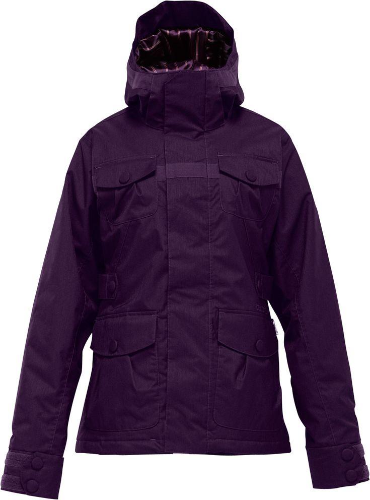 Burton Delirium Snowboard Jacket Rum Raisin - Women's... all I want is a purple jacket!