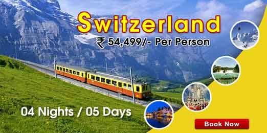 #Switzerland #delhi @ Switzerland Tour Package Rs. 54,499/- Per Person 04 Nights / 05 Day.