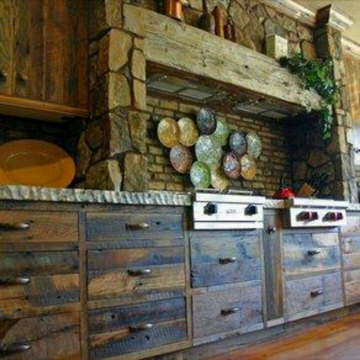 Rustic Oak Kitchen Cabinets: 11 Best Ideas About Rustic Kitchen Cabinets On Pinterest