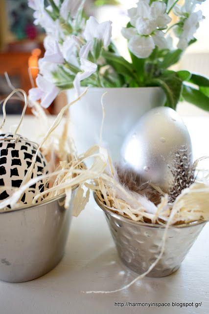 Ιδέες για διακόσμηση: Μεταλλικές Πασχαλιάτικες λάμψεις!