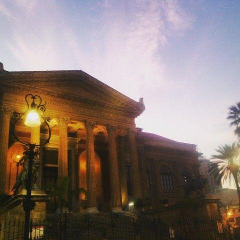 Teatro Massimo in Palermo, Sicilia