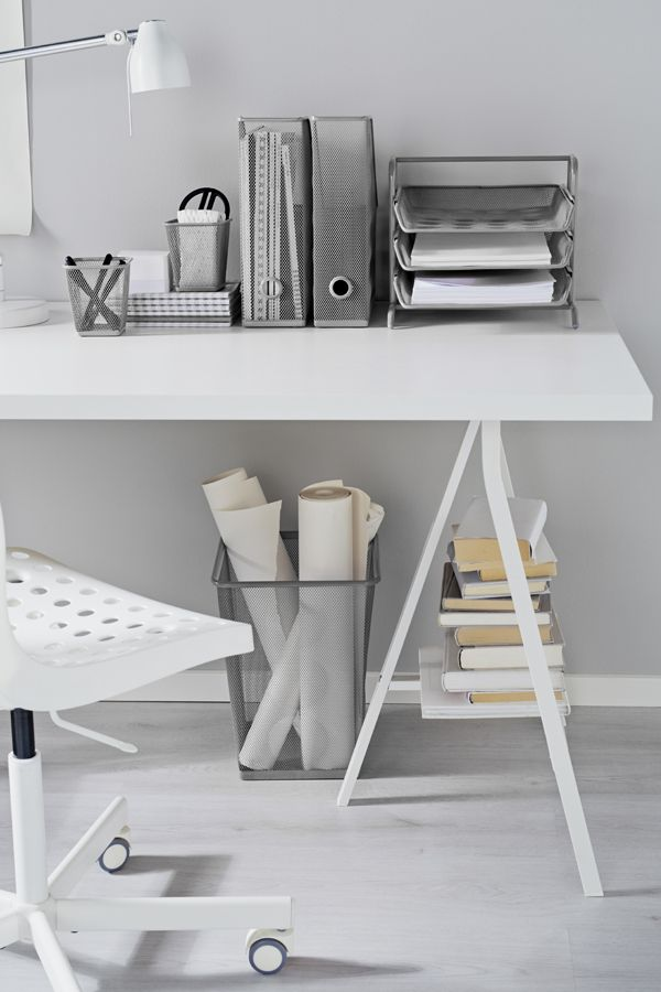 Superior With The Metal Mesh IKEA DOKUMENT Workspace Series, You Can Be Sure That  Every Pen And Paper In Your Home Office Is In Place.