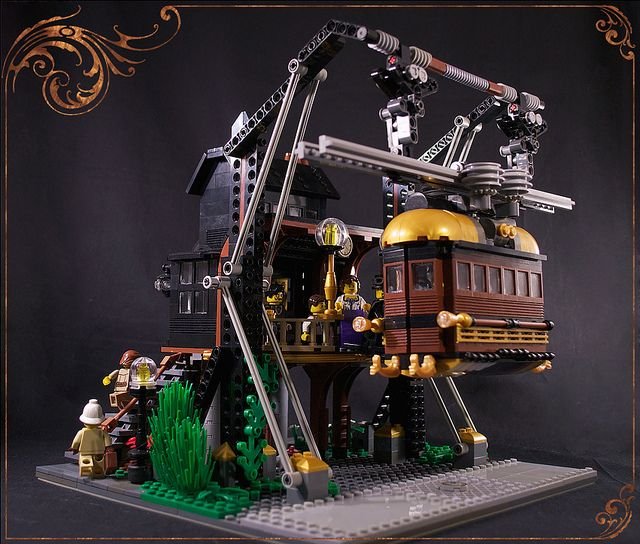 best 25 steampunk lego ideas on pinterest amazing lego creations lego star wars and lego figures. Black Bedroom Furniture Sets. Home Design Ideas