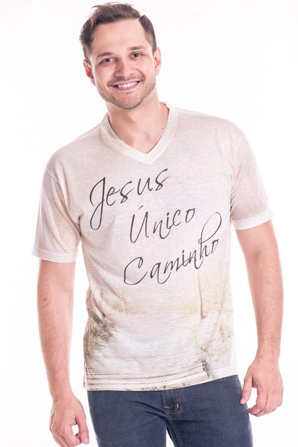 Camiseta Sublimada - Unico caminho