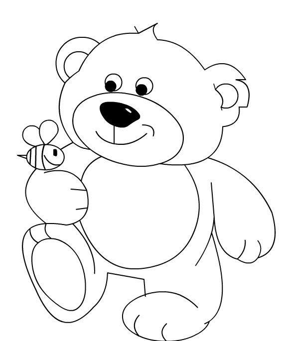 Oyuncak Ayı Boyama Sayfaları Animal Drawings Coloring Pages