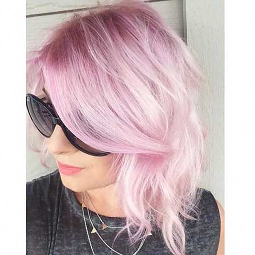 Schöne kurze rosa Haarideen für junge Frauen   – annabelle