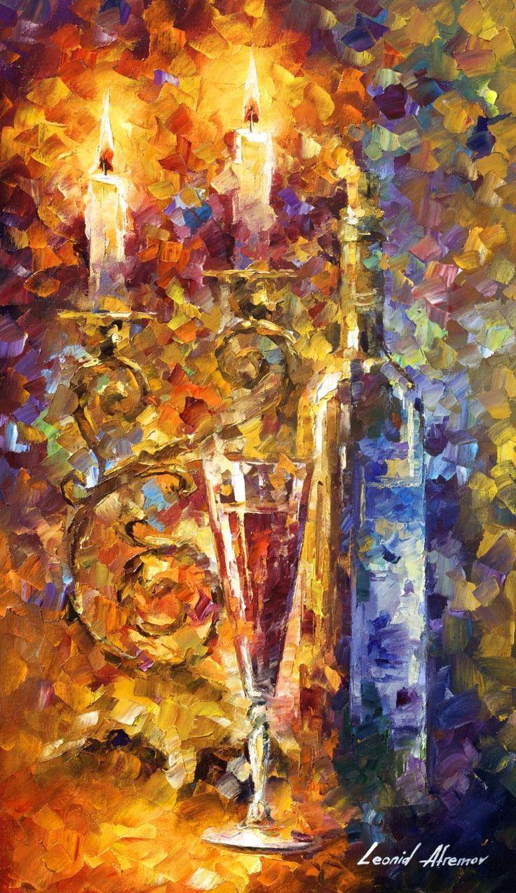 SWEET WINE - Original Oil Painting On Canvas By Leonid Afremov http://afremov.com/SWEET-WINE-Original-Oil-Painting-On-Canvas-By-Leonid-Afremov-15-x25-37cm-x-64cm.html?bid=1&partner=20921&utm_medium=/vpin&utm_campaign=v-ADD-YOUR&utm_source=s-vpin