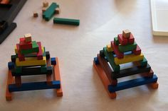 Block play leads to understanding of mathematical concepts - Cuisenaire Rods by smithi1, via Flickr