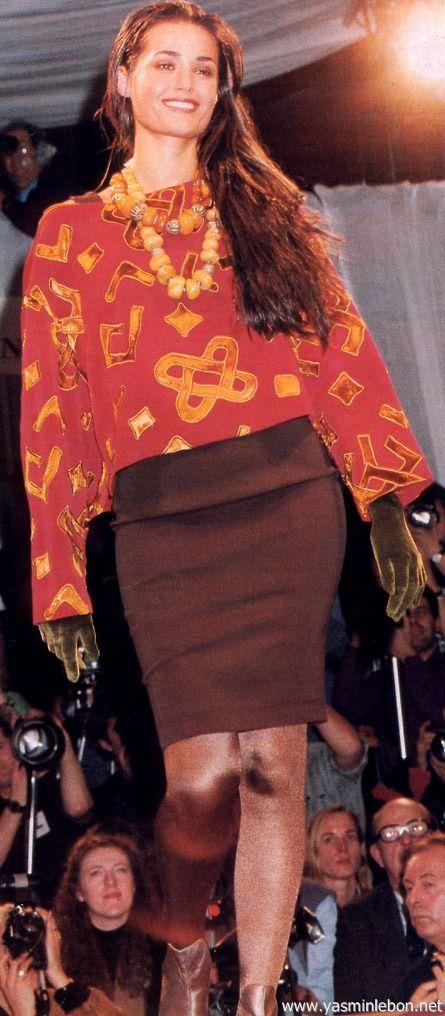 Rifat Ozbek autumn winter 1991