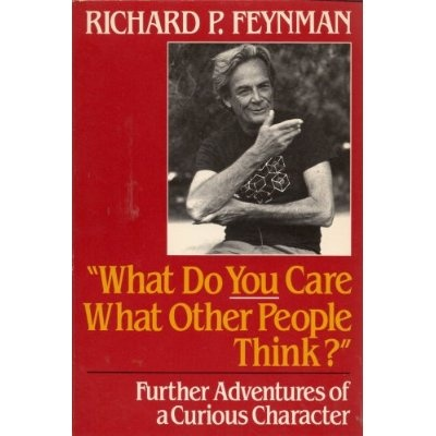 One of the most thrilling reads I've ever experienced. I love the way Richard Feyman's mind worked!