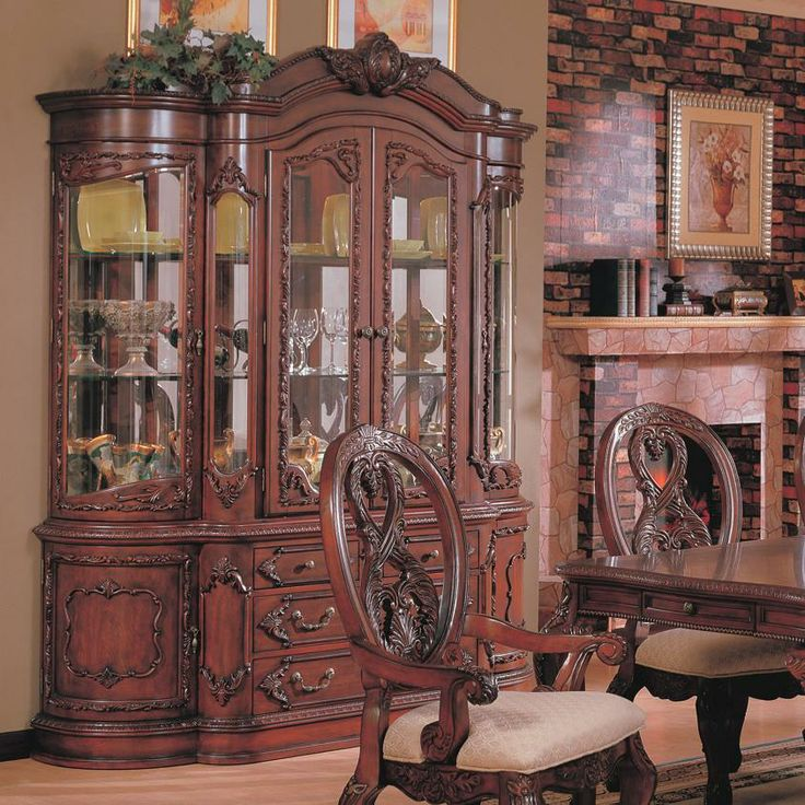 34 Best China Cabinets Images On Pinterest  Dining Sets China Amusing Dining Room Set With Hutch Design Ideas