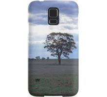 Lone Tree and a Curtain of Sunrays - Boort, Victoria Samsung Galaxy Case/Skin