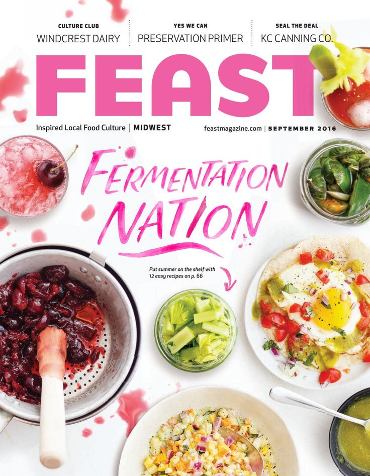 Inspired by all of the innovative ways people are playing with fermentation and pickling, we've focused this late-summer issue on preservation.