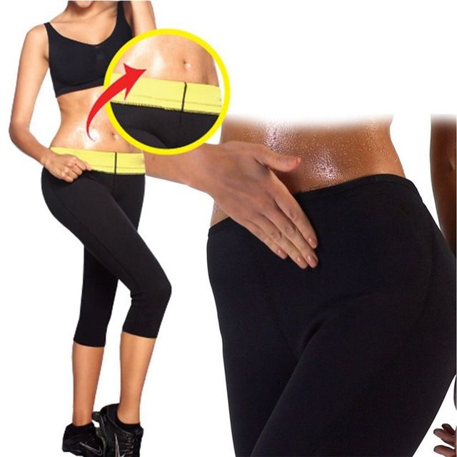 f6ecd1f6d7 Discounted $7.41, Buy Womens Slimming Stretch Pants Hot Thermo Neoprene  Sweat Sauna Control Workout Panties