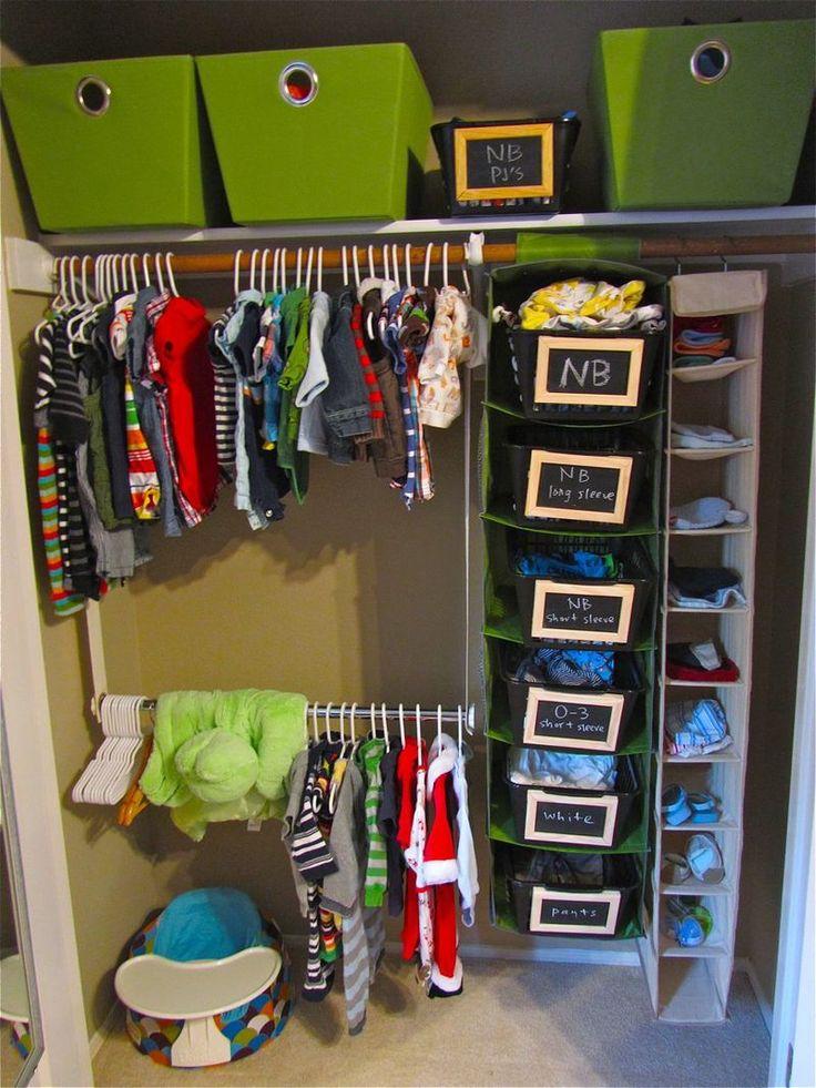 Nursery closet hangers : ... closet, diys nurseries, nurseries closet organizations,