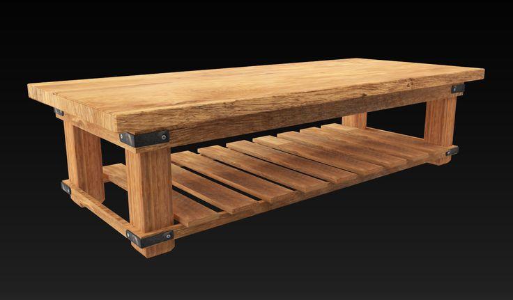 Hard Wood Table: Estudo