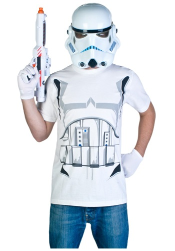 Adult Stormtrooper costume t-shirt #Halloween #StarWars