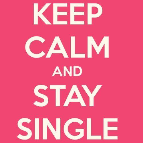 Single-Leben ist am besten