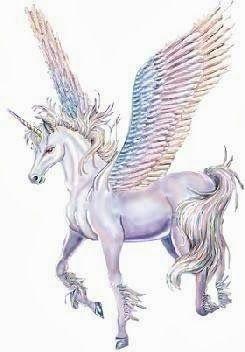 Winged Unicorn Uni Peg Pegasus Fantasy Myth Mythical Mystical Legend Wings Licorne Enchantment