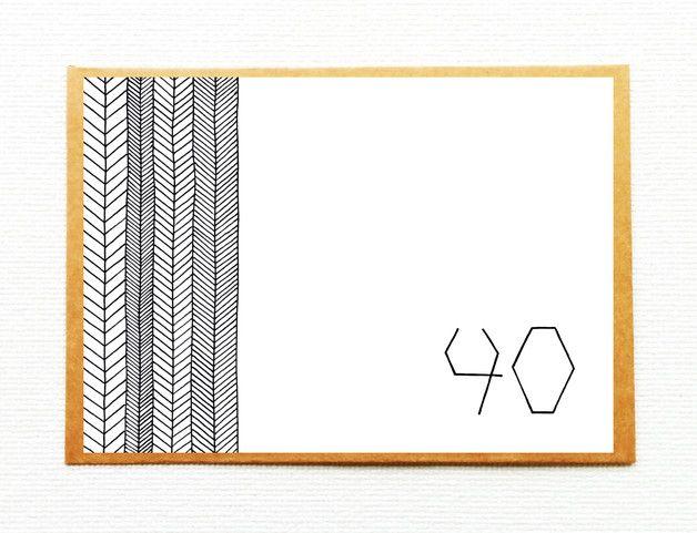 Ibiza Karte Ausdrucken.Karte 40 Jahre 40 Geburtstag Ibiza Stil Einladungen Grußkarten