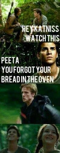 The Hunger Games Igrzyska Śmierci Peeta Gale Katniss