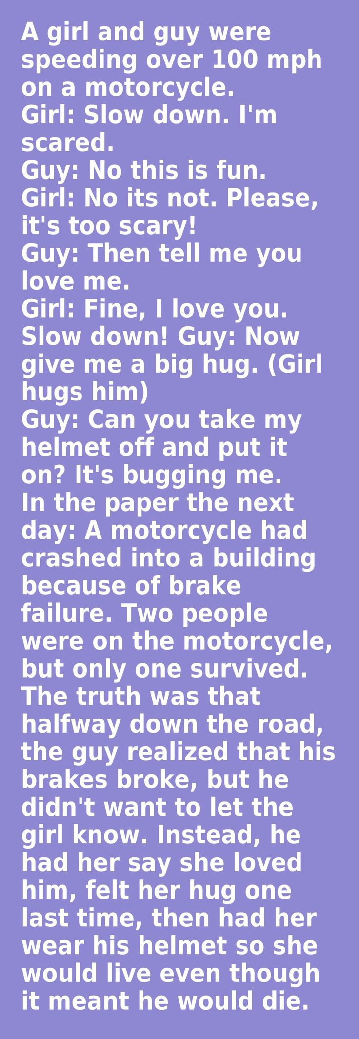 This is so sad. It made me cry.. But I would do this for my future love any day...
