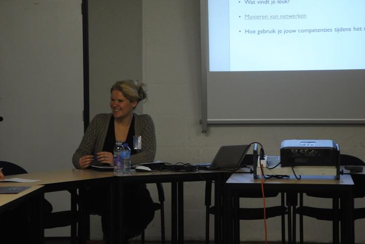 Workshop netwerken tijdens het Symposium 'je toekomst in eigen hand' bij Universiteit Twente