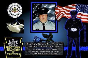 John E. Wetzel, Secretary of the Department of Corrections in Pennsylvania reports the death of Corrections Officer David Weaver.   http://www.lawenforcementtoday.com/in-memoriam-corrections-officer-david-weaver/