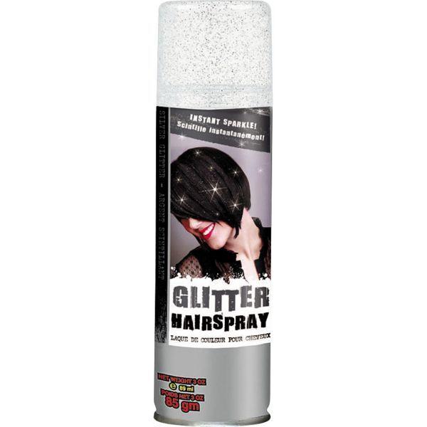Silver Glitter Hair Spray 3oz