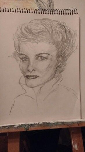How about this one?  Is she recognizable?