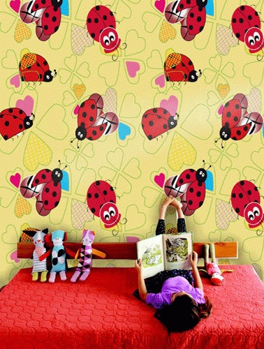 Customized Childrens Wallpaper Designs on Behance