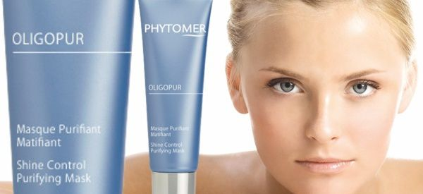 Phytomer Oligopur Shine Control Mask for Combination Skin.