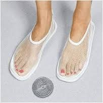 Shower slippers ladies!