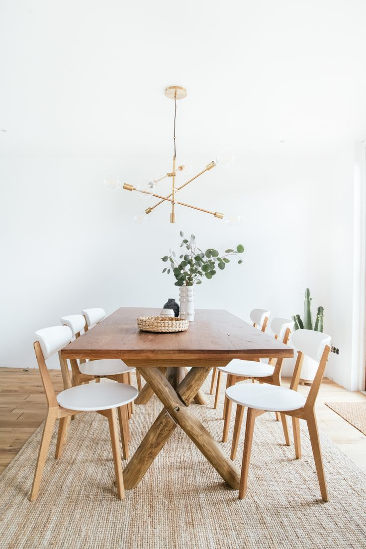 California styled dining room