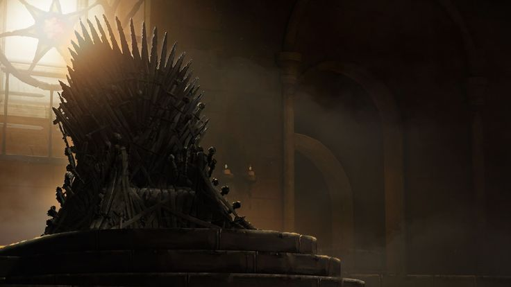 Danza de dragones - El ansiado trono de hierro de la saga Canción de hielo y fuego.