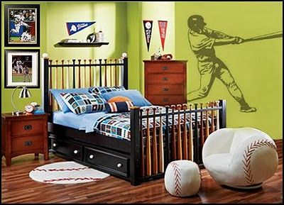 Baseball Bat Bed from Rooms to GoBedrooms Theme, Boys Bedrooms, Kids Room, Baseball Beds, Baseball Room, Bedrooms Decor Ideas, Boys Room, Bedrooms Ideas, Basebal Bedrooms