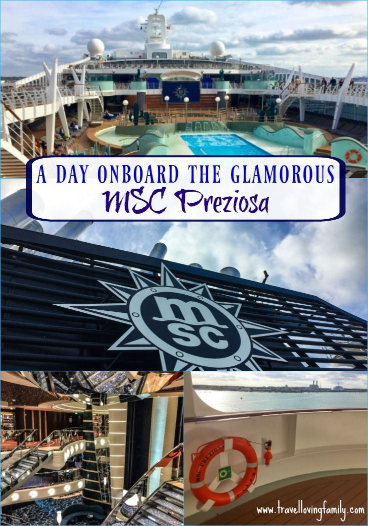 Review of the facilities for families onboard MSC Preziosa, ranked one of the five best cruise ships in the world with five kids clubs, three pools, a 120 metre wave slide, bowling alley and lots more to keep families entertained.
